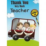 Thank You Teacher - School Bus