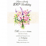 100th Birthday - F Flowers
