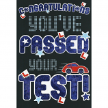 Passing Driving Test - M Black Pass