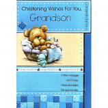 Grandson Christening - Brown Bear