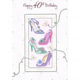 40th Birthday - F Shoes