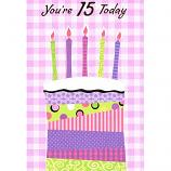 Girl Age 15 - Birthday Cake