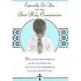 First Communion - Boy Praying