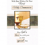 First Communion - N Gold Chalice