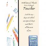Thank You Teacher - Calculator