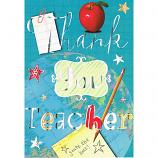 Thank You Teacher - Silver Thank You