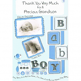 Thank You For A Grandson - Baby Boy