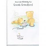 Great Grandson Birthday - Bears/Lake