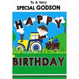 Godson Birthday - Boy/Train
