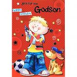 Godson Birthday - Boy/Dog