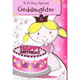 God-Daughter Birthday - Girl/Cake