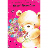 Great-Grandma Birthday - Bear/Flowers