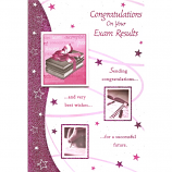 Exam Congrats - Large Pink