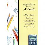 'A Level' Congrats - Calculator