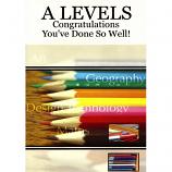 'A Level' Congrats - Pencils