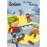 Godson Birthday - Skateboard