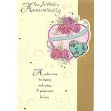 1st Anniversary - Heart/Roses