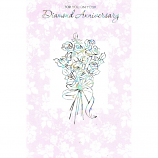 Diamond Anniversary - Foil Bouquet