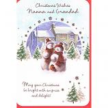 Nanna & Grandad Xmas - Snowmen/House