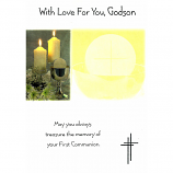 Godson First Communion - Candles