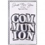 First Communion - Lge Glitter Communion
