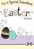Grandson Easter - 2 Eggs