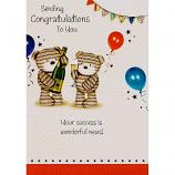 Congratulations - 2 Bears