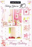 Girl Age 10 - Dressing Table