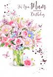 Mum Birthday - Pink Flowers