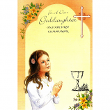 Goddaughter First Communion - Girl/Chalice
