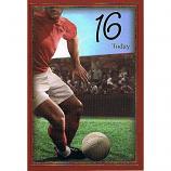 Boy Age 16 - Football Red