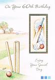 60th Birthday - Male Cricket