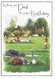 Dad Birthday - Rugby