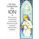 Son Confirmation - Boy Reading