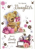 Daughter Birthday Brown Bear