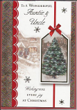 Auntie & Uncle Christmas Hanging Tag