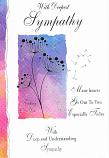Sympathy - 3 Silver Flowers