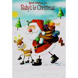 Babys 1st Xmas - Santa/Sack