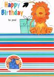 Birthday Cute - Lion