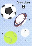 Boy Age 8 - Football