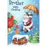 Brother Xmas - Lge Santa/Parachute