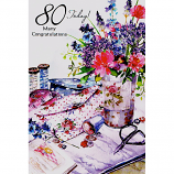 80th Birthday - Needlework