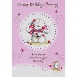 Mummy Birthday - Bunny/Flowers