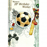 18th Birthday - Lge Football