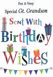 Great Grandson Birthday - Pattern Wording