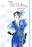 18th Birthday - Female Blue Dress