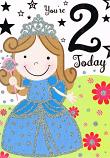 Girl Age 2 - Blue Fairy