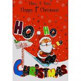 Babys 1st Xmas - Ho Ho Santa