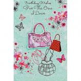 One I Love Birthday - Lge Bag