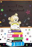 First Day at Play school - Bear/Books